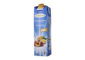 Fruit Action Perzik-Sinaasappelsap 1,0 liter